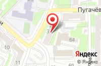 Схема проезда до компании Багата в Казани
