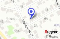 Схема проезда до компании ТАКСИ ФОРСАЖ в Алексеевском