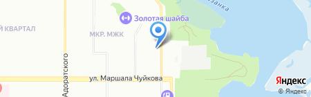 Почтовое отделение №137 на карте Казани