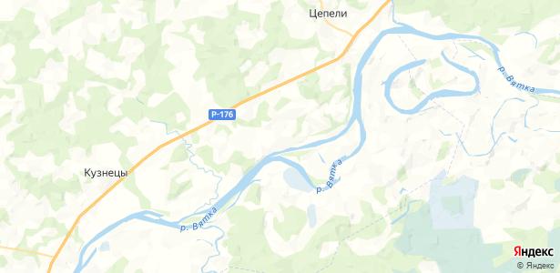Заовраг на карте