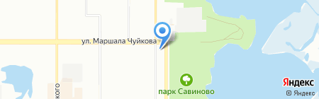 Инжектор на карте Казани