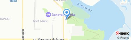 Start на карте Казани