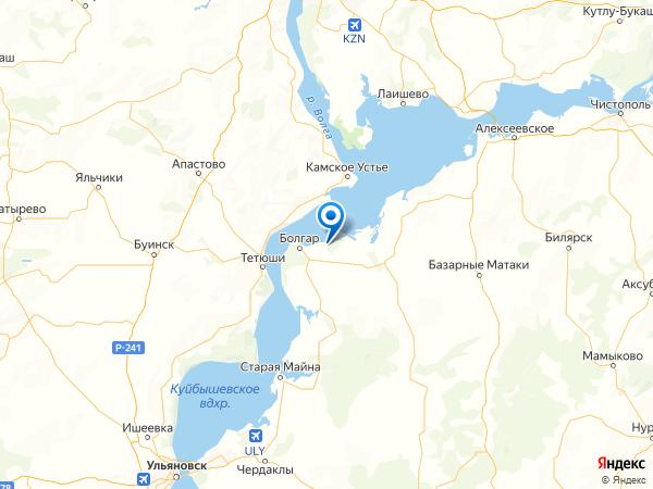 деревня Ржавец на карте