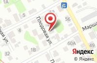 Схема проезда до компании Поиск в Луговом