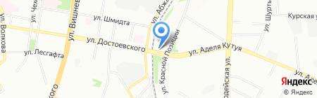 Аланья на карте Казани