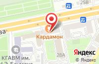 Схема проезда до компании Региональный деловой союз в Казани