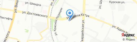 Мастерская по ремонту одежды на ул. Аделя Кутуя на карте Казани