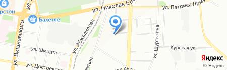 Гитарная школа Андрея Царёва на карте Казани