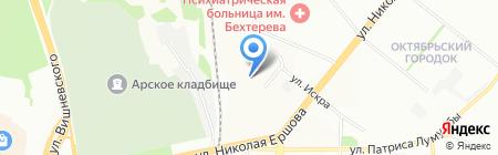 ЭнергоСберегающие технологии на карте Казани