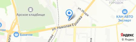 Новый дом на карте Казани