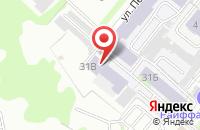 Схема проезда до компании Иксора в Казани