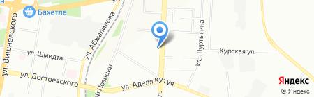 Диал на карте Казани
