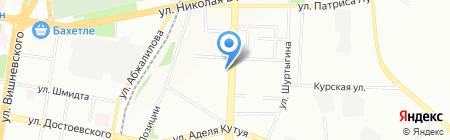 Абак на карте Казани