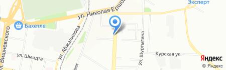 Фабрика окон и дверей на карте Казани