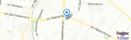 Строительный Квартал на карте Казани