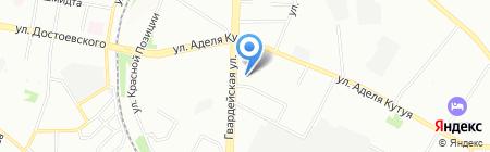 Mega Line на карте Казани