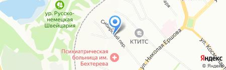 Азамат на карте Казани