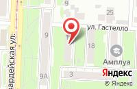 Схема проезда до компании Библиотека в Переславском