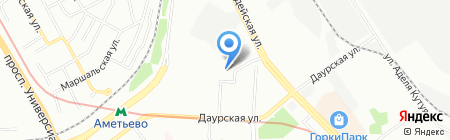 Детский сад №377 Золотая рыбка на карте Казани