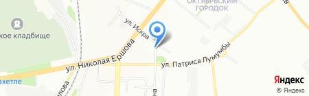 Центр на карте Казани