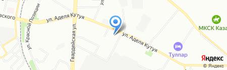 Потолок+ на карте Казани