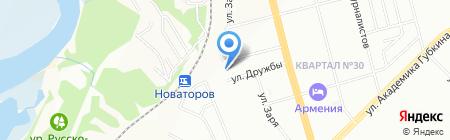 Тирус на карте Казани