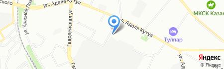 На Седова на карте Казани