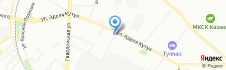 Эриа Девелопмент на карте Казани