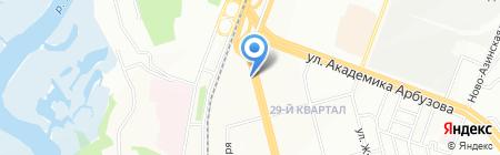 Вымпел на карте Казани