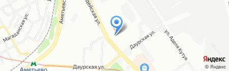 Детский сад №74 Ладушки на карте Казани