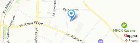 Провент на карте Казани