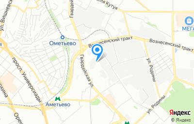 Местоположение на карте пункта техосмотра по адресу г Казань, ул Гвардейская, д 53