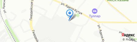 Премьера на карте Казани