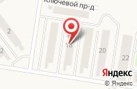 Схема проезда до компании Солнечный в Подстепках