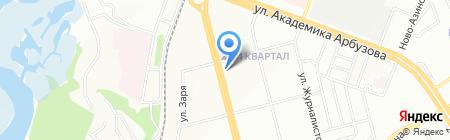 Кама тамагы на карте Казани
