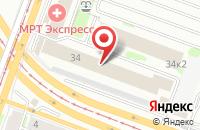 Схема проезда до компании Ирбис в Казани