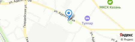 ВИЛЕНД на карте Казани