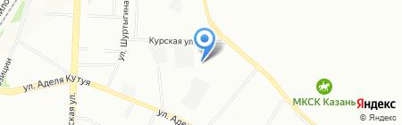 Опорный пункт общественного порядка Отдел полиции №12 Гвардейский на карте Казани