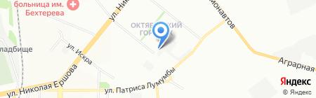 Панбот на карте Казани