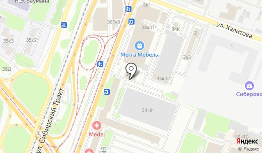 От и До Недвижимость. Схема проезда в Казани