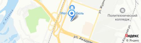 Виктория на карте Казани