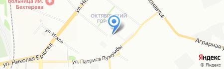 АвтоДиалог на карте Казани