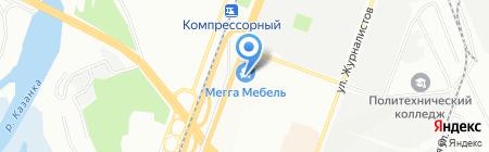 АСКОНА на карте Казани