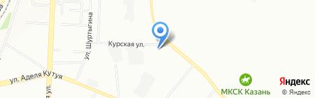 Слиffки на карте Казани