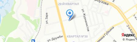 Высшая школа управления на карте Казани