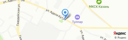 Современные инженерные системы на карте Казани