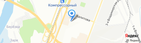 Рокко-Текстиль-Казань на карте Казани