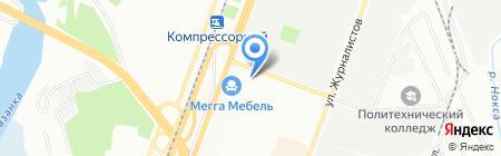 КБ Космос на карте Казани