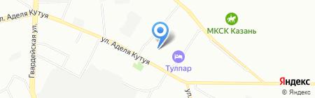 Теплоизоляция+ на карте Казани