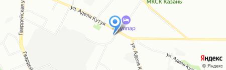 Master штамп на карте Казани